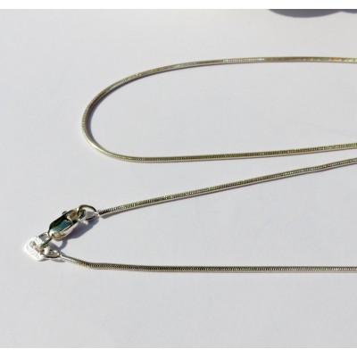 Chaîne brillante argent 45 cm 4.1 gr