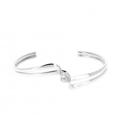 Bracelet argent deux tiges...