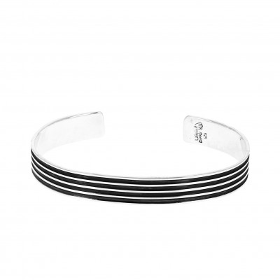 Bracelet argent  belles lignes