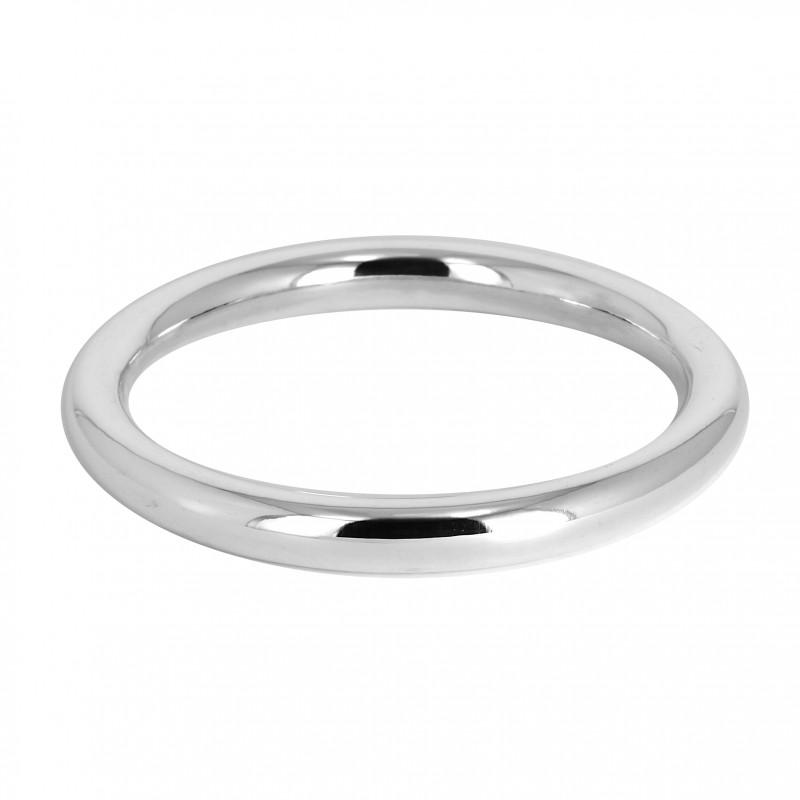 bracelet argent rond