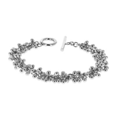 Bracelet en argent petites...