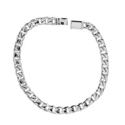 Bracelet gourmette argent...