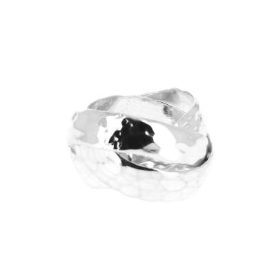 bague argent martel trois anneaux. Black Bedroom Furniture Sets. Home Design Ideas