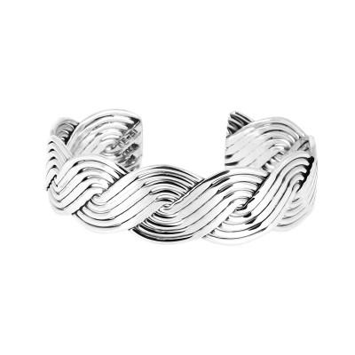 Bracelet argent huit lignes...