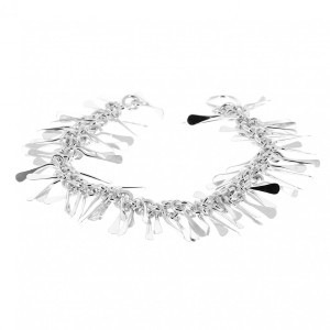 Bracelets souples argent